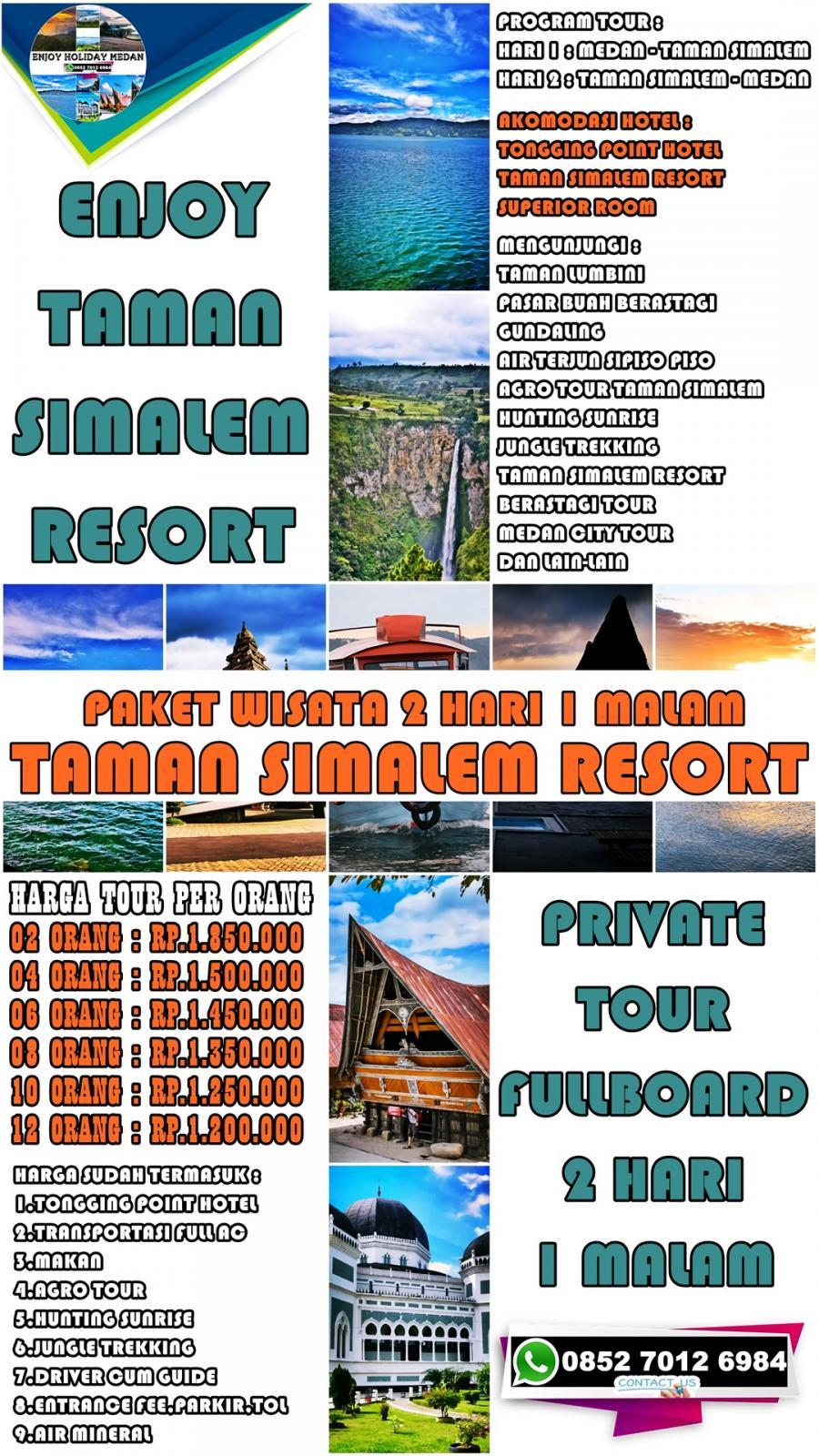 2 Hari 1 Malam Taman Simalem Resort