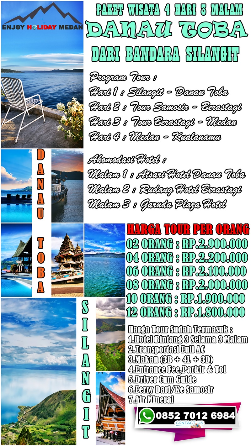 Lake Toba Tour Package From Silangit