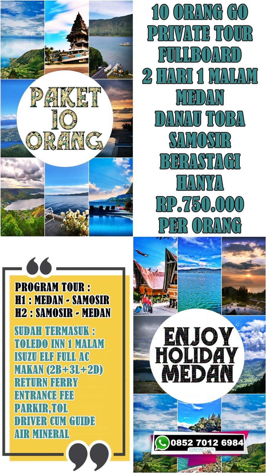 One Day Trip Danau Toba