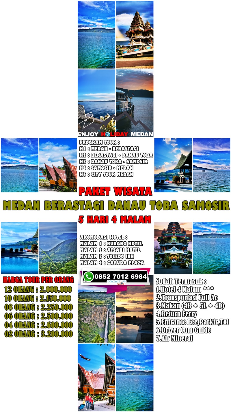 Paket Wisata Danau Toba Samosir 5D4N