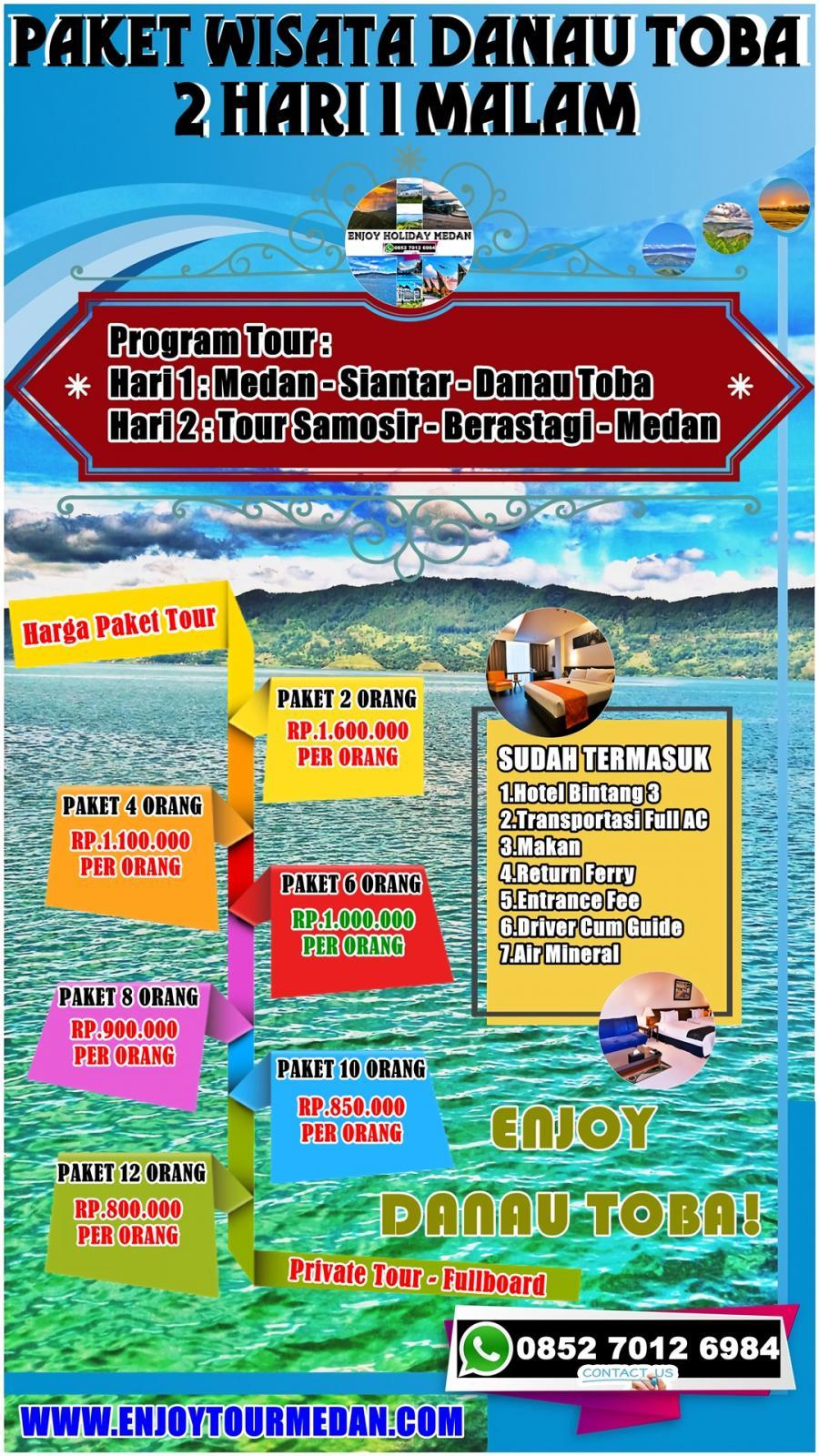 Paket Wisata Danau Toba Sumatera Utara Medan